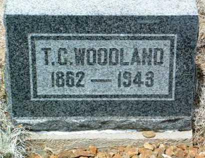 WOODLAND, THOMAS C. - Yavapai County, Arizona   THOMAS C. WOODLAND - Arizona Gravestone Photos