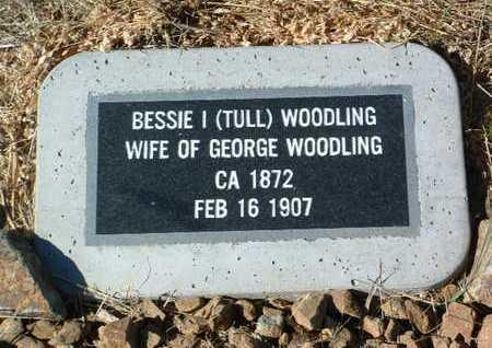 WOODLING, BESSIE I. - Yavapai County, Arizona | BESSIE I. WOODLING - Arizona Gravestone Photos
