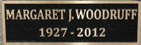WOODRUFF, MARGARET J. - Yavapai County, Arizona | MARGARET J. WOODRUFF - Arizona Gravestone Photos