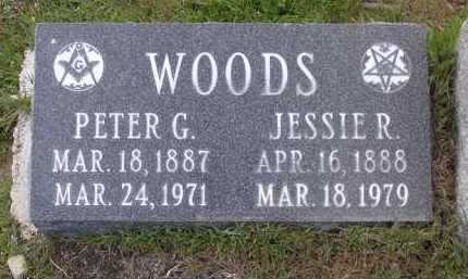 WOODS, JESSIE R. - Yavapai County, Arizona | JESSIE R. WOODS - Arizona Gravestone Photos