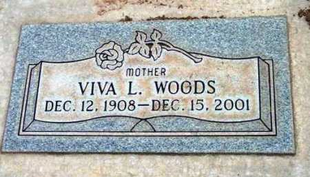 WOODS, VIVA L. - Yavapai County, Arizona | VIVA L. WOODS - Arizona Gravestone Photos