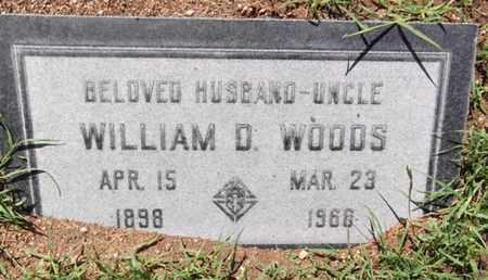WOODS, WILLIAM DEWEY - Yavapai County, Arizona   WILLIAM DEWEY WOODS - Arizona Gravestone Photos