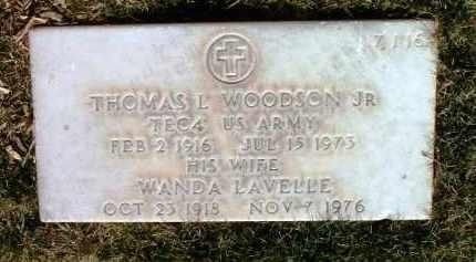 WOODSON, THOMAS L., JR. - Yavapai County, Arizona | THOMAS L., JR. WOODSON - Arizona Gravestone Photos