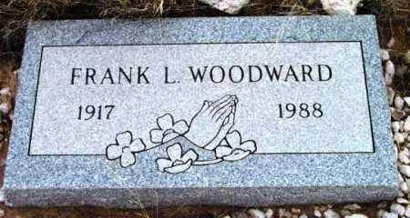 WOODWARD, FRANK L. - Yavapai County, Arizona | FRANK L. WOODWARD - Arizona Gravestone Photos