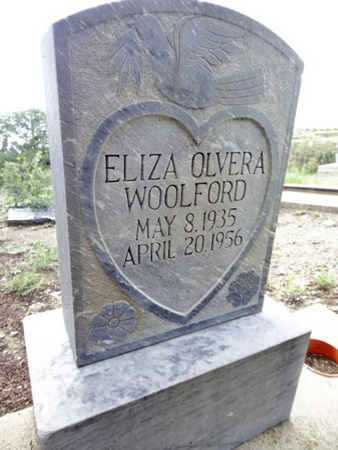 WOOLFORD, ELIZA - Yavapai County, Arizona | ELIZA WOOLFORD - Arizona Gravestone Photos