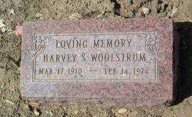 WOOLSTRUM, HARVEY S. - Yavapai County, Arizona | HARVEY S. WOOLSTRUM - Arizona Gravestone Photos