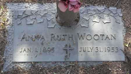 WOOTAN, ANNA RUTH - Yavapai County, Arizona | ANNA RUTH WOOTAN - Arizona Gravestone Photos