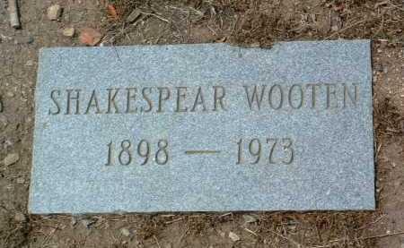 WOOTEN, SHAKESPEAR CANTAR - Yavapai County, Arizona   SHAKESPEAR CANTAR WOOTEN - Arizona Gravestone Photos