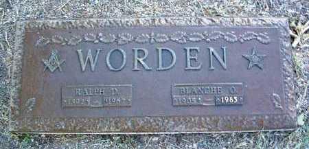 WORDEN, BLANCHE OLIVE - Yavapai County, Arizona   BLANCHE OLIVE WORDEN - Arizona Gravestone Photos