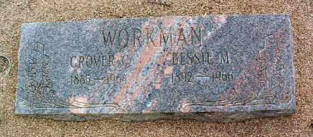 WORKMAN, GROVER CLEVELAND - Yavapai County, Arizona | GROVER CLEVELAND WORKMAN - Arizona Gravestone Photos