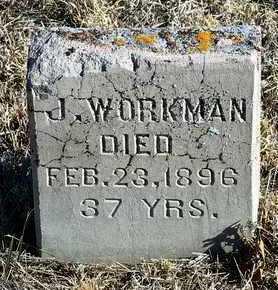 WORKMAN, J. - Yavapai County, Arizona | J. WORKMAN - Arizona Gravestone Photos