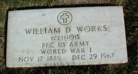 WORKS, WILLIAM D. - Yavapai County, Arizona   WILLIAM D. WORKS - Arizona Gravestone Photos