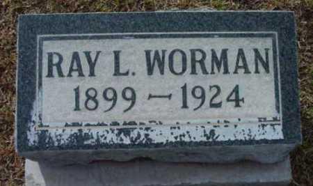 WORMAN, RAY L. - Yavapai County, Arizona | RAY L. WORMAN - Arizona Gravestone Photos