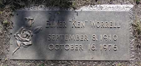 WORRELL, ELMER (KEN) - Yavapai County, Arizona | ELMER (KEN) WORRELL - Arizona Gravestone Photos