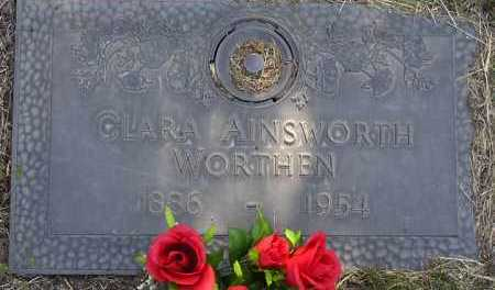 AINSWORTH CLINE, CLARA - Yavapai County, Arizona | CLARA AINSWORTH CLINE - Arizona Gravestone Photos