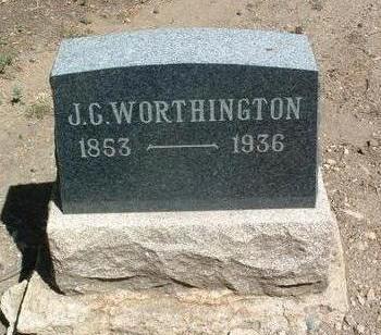 WORTHINGTON, JESSE C. - Yavapai County, Arizona   JESSE C. WORTHINGTON - Arizona Gravestone Photos