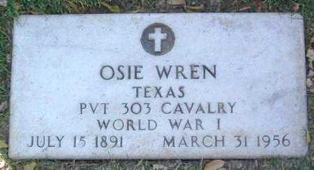 WREN, OSIE THEODORE - Yavapai County, Arizona   OSIE THEODORE WREN - Arizona Gravestone Photos