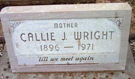 WRIGHT, CALLIE JANE - Yavapai County, Arizona | CALLIE JANE WRIGHT - Arizona Gravestone Photos