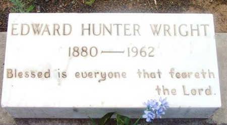 WRIGHT, EDWARD HUNTER, SR. - Yavapai County, Arizona | EDWARD HUNTER, SR. WRIGHT - Arizona Gravestone Photos