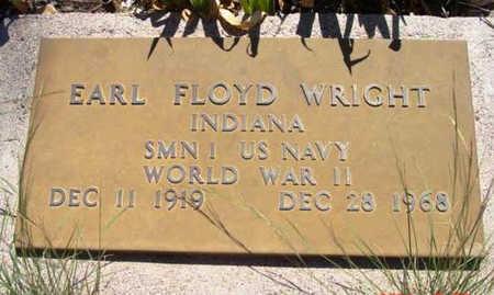 WRIGHT, EARL FLOYD - Yavapai County, Arizona | EARL FLOYD WRIGHT - Arizona Gravestone Photos