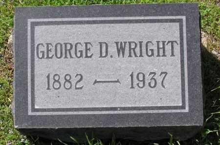 WRIGHT, GEORGE D. - Yavapai County, Arizona | GEORGE D. WRIGHT - Arizona Gravestone Photos