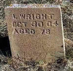 WRIGHT, LORENZO DOW - Yavapai County, Arizona | LORENZO DOW WRIGHT - Arizona Gravestone Photos