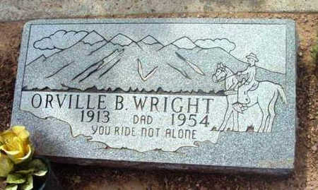 WRIGHT, ORVILLE B. - Yavapai County, Arizona | ORVILLE B. WRIGHT - Arizona Gravestone Photos