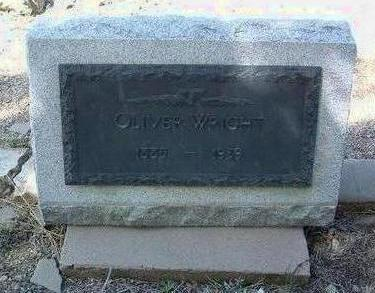 WRIGHT, OLIVER B. - Yavapai County, Arizona | OLIVER B. WRIGHT - Arizona Gravestone Photos