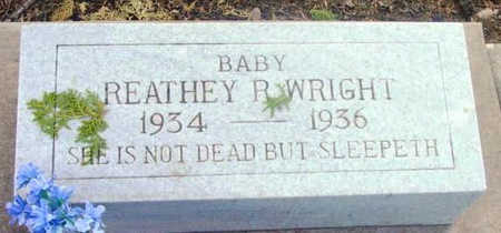 WRIGHT, REATHEY ROSE - Yavapai County, Arizona | REATHEY ROSE WRIGHT - Arizona Gravestone Photos