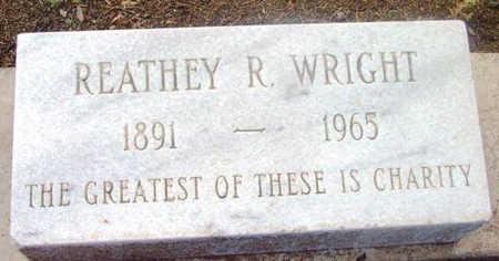 WRIGHT, REATHEY ROSETTA - Yavapai County, Arizona   REATHEY ROSETTA WRIGHT - Arizona Gravestone Photos