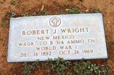 WRIGHT, ROBERT J. - Yavapai County, Arizona   ROBERT J. WRIGHT - Arizona Gravestone Photos