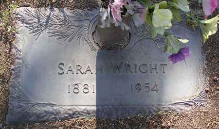 WRIGHT, SARAH LUCRETIA - Yavapai County, Arizona | SARAH LUCRETIA WRIGHT - Arizona Gravestone Photos