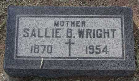 WRIGHT, SALLIE BETT - Yavapai County, Arizona | SALLIE BETT WRIGHT - Arizona Gravestone Photos