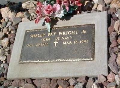 WRIGHT, SHELBY PAT, JR. - Yavapai County, Arizona | SHELBY PAT, JR. WRIGHT - Arizona Gravestone Photos