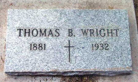 WRIGHT, THOMAS B. - Yavapai County, Arizona | THOMAS B. WRIGHT - Arizona Gravestone Photos