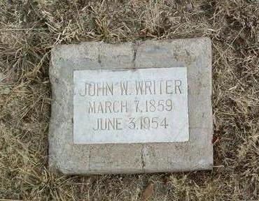 WRITER, JOHN W. - Yavapai County, Arizona | JOHN W. WRITER - Arizona Gravestone Photos
