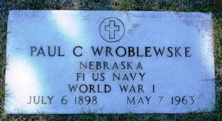 WROBLEWSKE, PAUL C. - Yavapai County, Arizona | PAUL C. WROBLEWSKE - Arizona Gravestone Photos