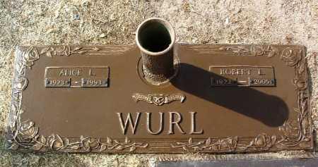 JOHNSON WURL, ALICE L. - Yavapai County, Arizona   ALICE L. JOHNSON WURL - Arizona Gravestone Photos