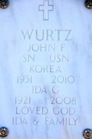 WURTZ, JOHN F. - Yavapai County, Arizona | JOHN F. WURTZ - Arizona Gravestone Photos