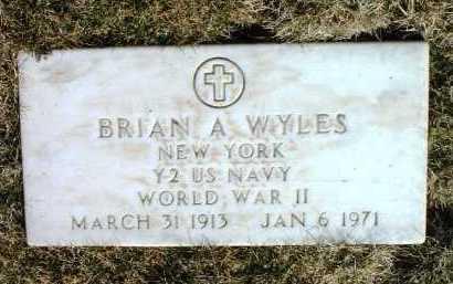 WYLES, BRIAN ARNOLD - Yavapai County, Arizona | BRIAN ARNOLD WYLES - Arizona Gravestone Photos