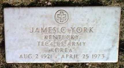 YORK, JAMES C. - Yavapai County, Arizona | JAMES C. YORK - Arizona Gravestone Photos