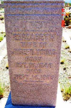 AUGHEY YOUNG, ELIZABETH - Yavapai County, Arizona | ELIZABETH AUGHEY YOUNG - Arizona Gravestone Photos