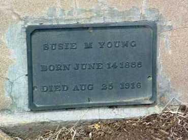 YOUNG, SUSIE LUCILLE - Yavapai County, Arizona   SUSIE LUCILLE YOUNG - Arizona Gravestone Photos