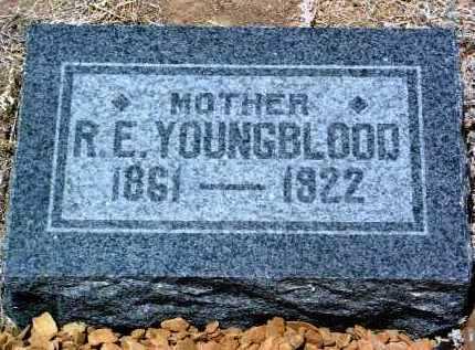 YOUNGBLOOD, RHODA E. - Yavapai County, Arizona | RHODA E. YOUNGBLOOD - Arizona Gravestone Photos