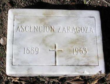 ZARAGOZA, ASCENCION - Yavapai County, Arizona | ASCENCION ZARAGOZA - Arizona Gravestone Photos