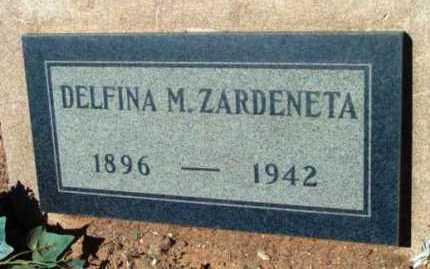 MORAZA ZARDENETA, DELFINA M. - Yavapai County, Arizona | DELFINA M. MORAZA ZARDENETA - Arizona Gravestone Photos