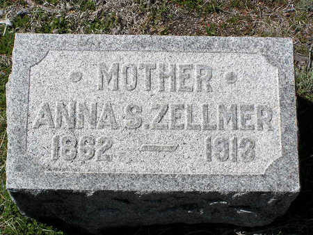ZELLMER, ANNA S. - Yavapai County, Arizona | ANNA S. ZELLMER - Arizona Gravestone Photos