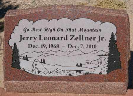 ZELLNER, JERRY LEONARD - Yavapai County, Arizona | JERRY LEONARD ZELLNER - Arizona Gravestone Photos