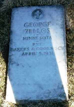 ZELLOS, GEORGE - Yavapai County, Arizona   GEORGE ZELLOS - Arizona Gravestone Photos
