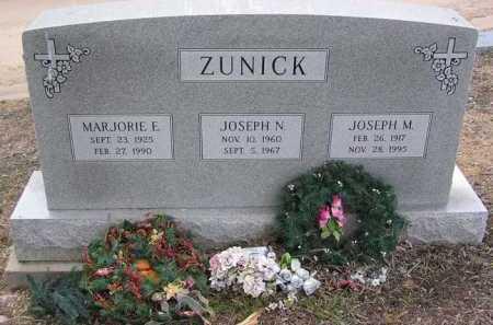 ZUNICK, JOSEPH MICHAEL - Yavapai County, Arizona | JOSEPH MICHAEL ZUNICK - Arizona Gravestone Photos